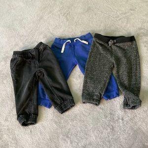 Baby boy bundle Joggers Size 18 Months